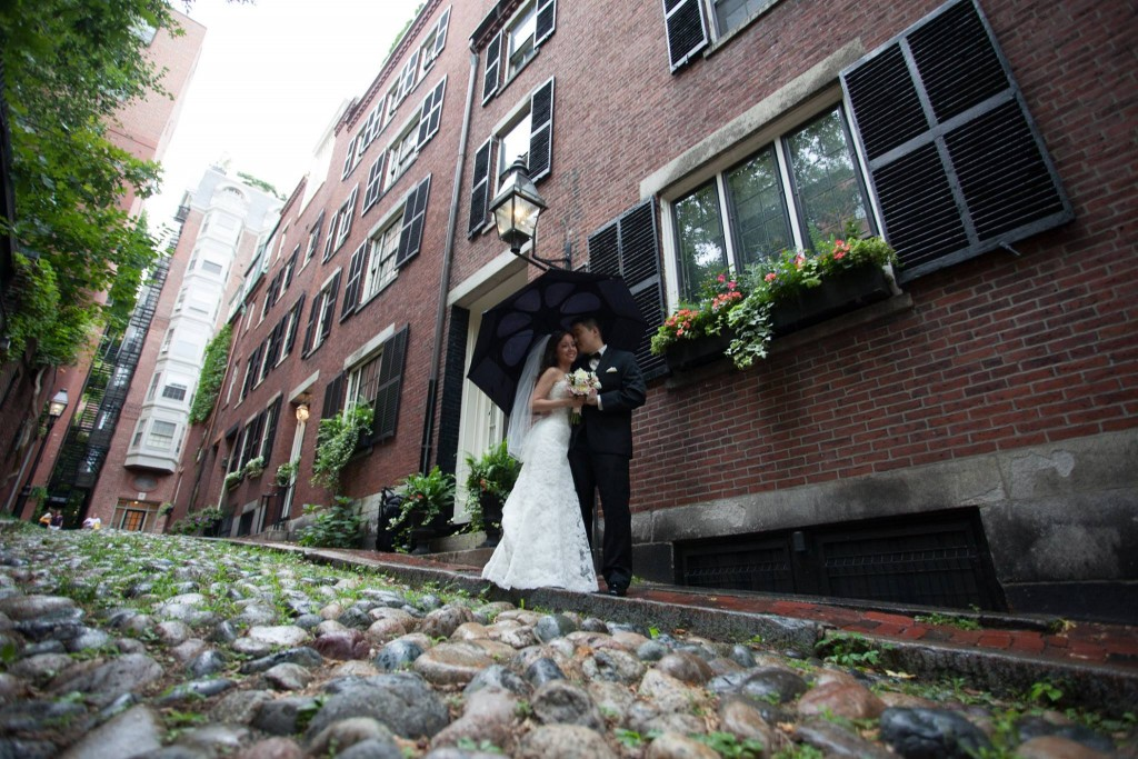 Hampshire House - Exterior Boston wedding venue photo