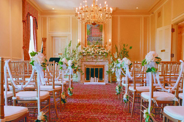 Wedding in Thayer Room - Premier Wedding Venue - Hampshire House Boston