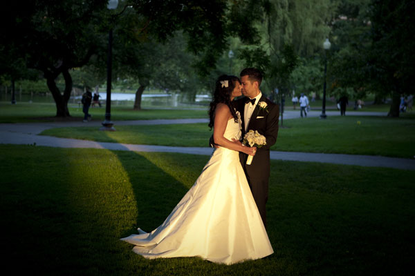 Boston Public Garden Wedding Photo - Hampshire House Boston