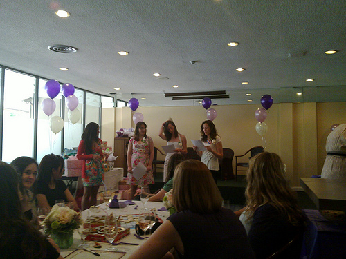 bridal shower games photo