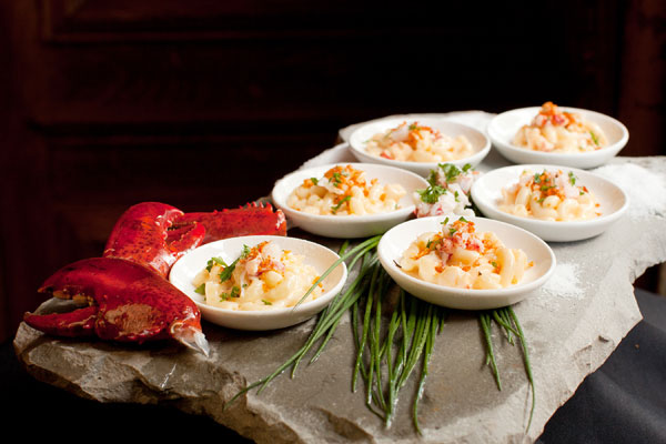 Creamy Lobster Macaroni and Cheese - Hampshire House Boston